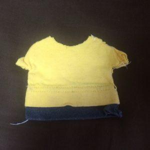 今も持っている思い出の黄色いTシャツ