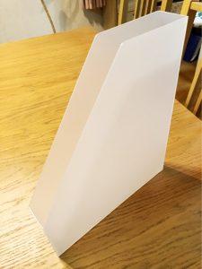 薄型ファイルボックス